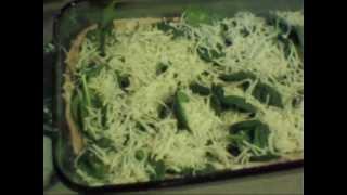 Whole Wheat Spinach Pesto Pizza
