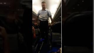 Тунис -Сыктывкар  разминка в самолете