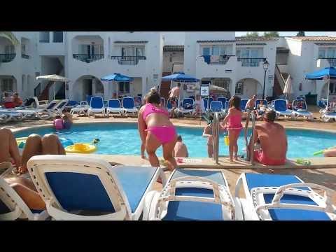 Part 2 Megaslide Waterpark waterside park Splashworld Bouganvilla Mallorca Sa Coma