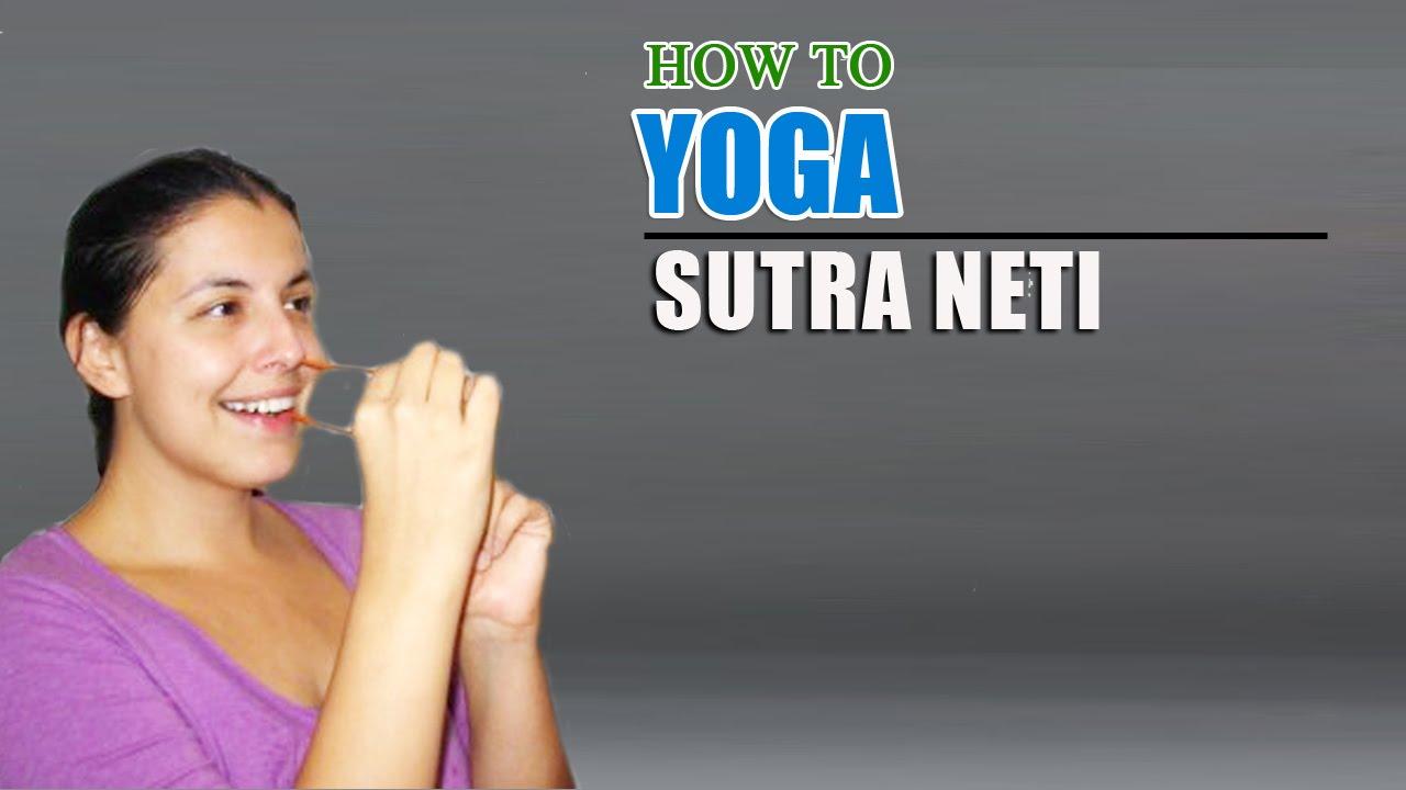 Association for Yoga and Meditation | Erica in Wonderland |Sutra Neti Sinus Cavity Diagram