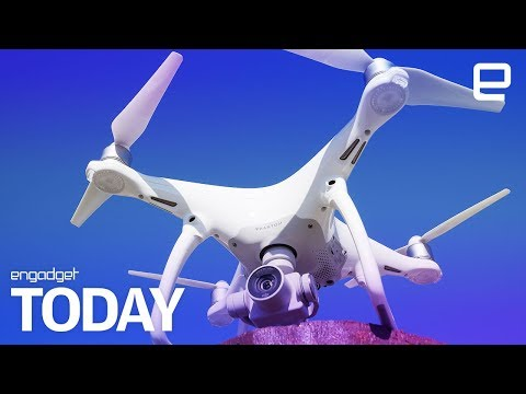 A drone accidentally landed on Britain's biggest warship | Engadget Today