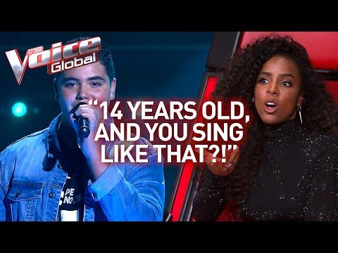 Wow! NIEMAND glaubte, dass dieser Sänger in The Voice erst 14 Jahre alt ist!