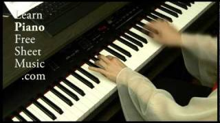 BACH Menuet g minor (BWV Anhang. 115) Solo Piano