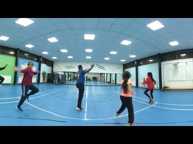 Vasda Punjab Bhangra Classes - VIRSA by Manak-E & Aman Hayer 360 Video