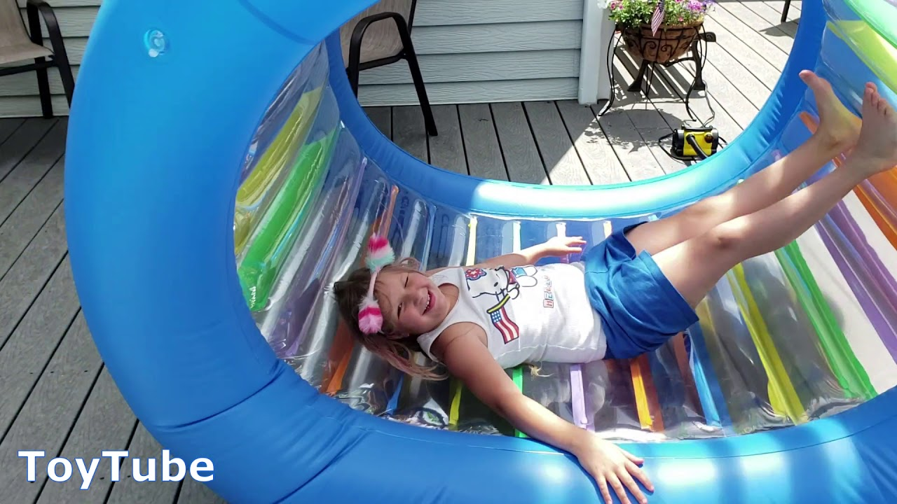 c2e71d0f Giant Inflatable Land Wheel by Jilong Roll With It!