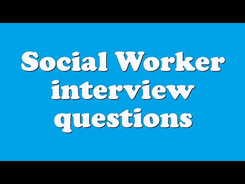 social work agency interview They work closely with their targeted population as well as with social care organizations and government institutions acting as mediators and social consulters therefore, because of the sensitivity of this position, the job interview for social workers includes: behavioral interview questions, experience/qualifications questions.