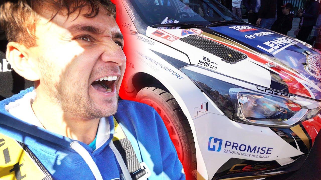 Svezl mě Rally pilot! | Můj nejlepší automobilový zážitek!