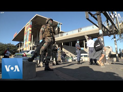 Thousands of Soldiers Deployed for South Africa Lockdown