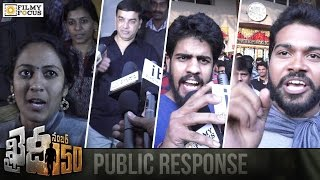 Khaidi No 150 Movie Public Response | Khaidi No 150 Review | Chiranjeevi, Kajal - Filmyfocus.com