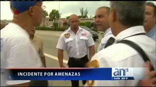 Exiliados cubanos en Miami se enfrentan a simpatizantes del castrismo - América TeVé
