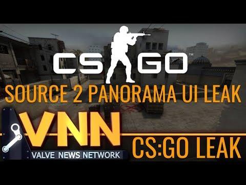 Parts of CS:GO's Panorama UI Leaked