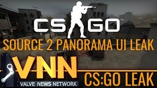 Parts of CS:GO's Panorama UI Leaked