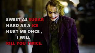 15 EPIC BOYS QUOTES JOKER'S ULTIMATE QUOTES || QUOTES UPLOADER