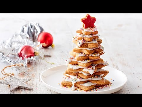 Gingerbread Star Christmas Tree Recipe