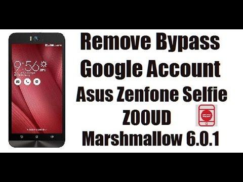 How To Bypass Google Account Frp Lock Asus Zenfone Selfie Z00ud