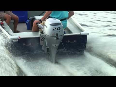 Honda Marine & MirroCraft 3696 Utility V