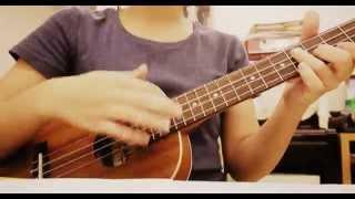 Maroon 5 - Payphone with ukulele (covered by Iris)
