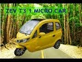 zev t3-1 micro  FULL specification AND FEATURES