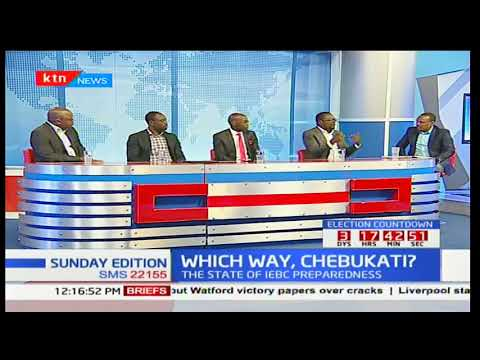 Which way is the million dollar question lingering in IEBC chairman Chebukati's mind: Sunday Edition