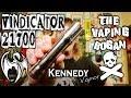 Vindicator 21700 | Kennedy Vapor | My New Favourite Mech Tube | Vaping Bogan