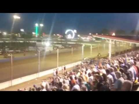 USAC Sprint Car Feature Part 3/3  Terre Haute Action Track