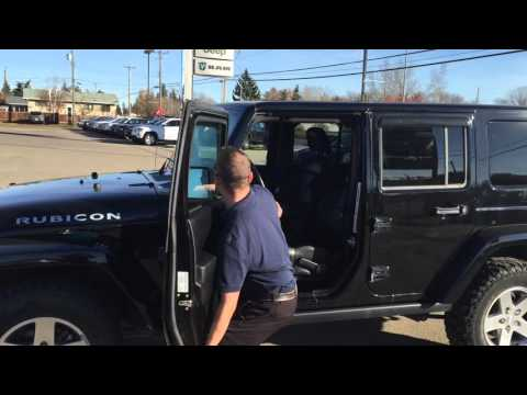 2012 Jeep Rubicon Unlimited | Door and Roof Removal | Edmonton, AB