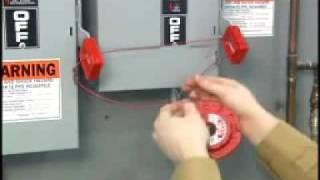 Sistema de bloqueo universal por cable retráctil