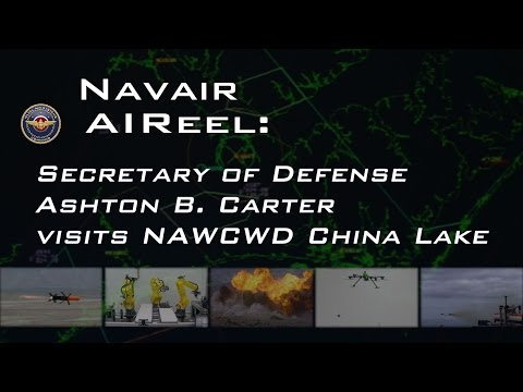 Secretary of Defense Ashton B. Carter visits NAWCWD China Lake