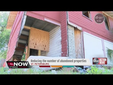 St. Petersburg tackles tough job of cleaning up abandoned properties