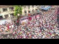 Lalbagcha Raja 😍2018. आरती भव्य कार्यक्रम 🇮🇳।।आरती 👌👌arati whatsapp status.  Must see....🙄, Whatsapp Status Video Download Free