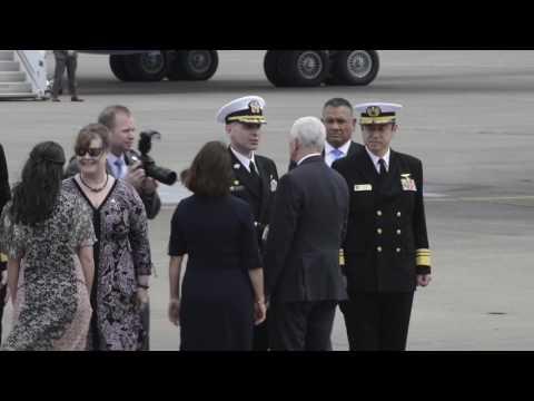 VP Visits Atsugi Japan