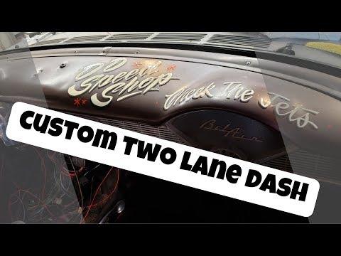 Custom Gasser Dashboard - 55 Chevy