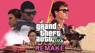 Baby driver vs gta 5 baby driver (side by side) - danka danka videos