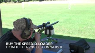 Henry Golden Boy Speed-D-Loader and Shooting Steel