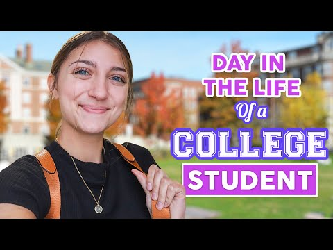 Day in the Life of a FiRST TiME College Student