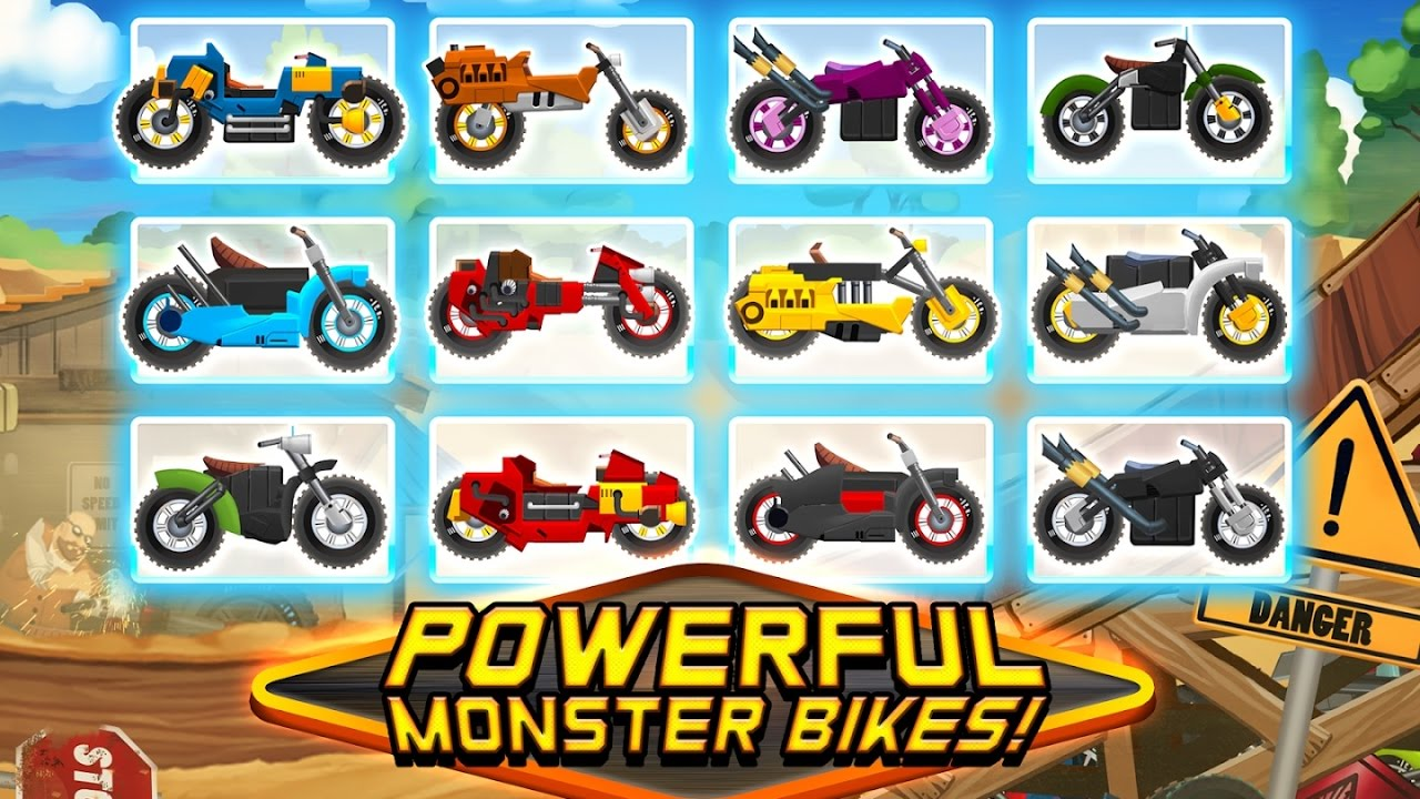 Monster Bike Motocross - Racing Action & Adventure - Videos Games for Children /Android HD