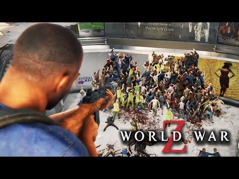 WORLD WAR Z - O INICIO DO JOGO com 1 MILHÃO DE ZUMBI!!! ÉPICO