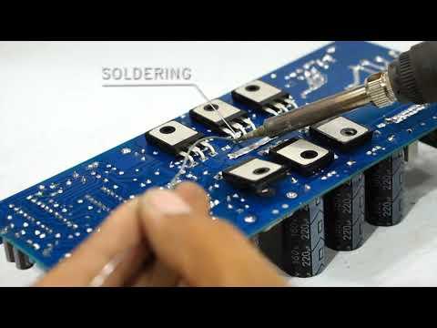 Super Class-D Amplifier D4K5 - JLCPCB