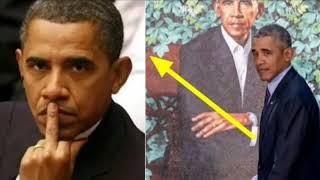 After Obama's 'Strange' Portrait Unveiled, People Horrified As Barack Does 1 Sick Thing