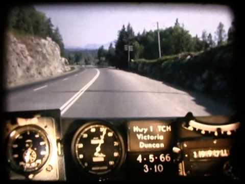 BC RoadTrip Time Machine Malahat 1966