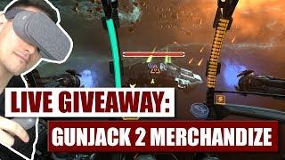 Live Giveaway: Gunjack 2 Merchandize!