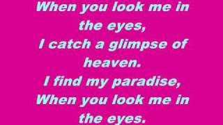 Jonas Brothers-When You Look Me In The Eyes (lyrics/instrumental)