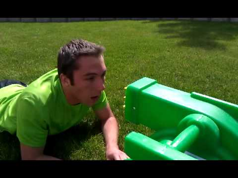 Bounce House Blower to the Face