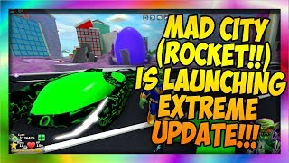 🐔MAD CITY (HOW TO LAUNCH THE ROCKET) CRAZY UPDATE!!! 🐔 [CODES IN DESCRIPTION] [Roblox]