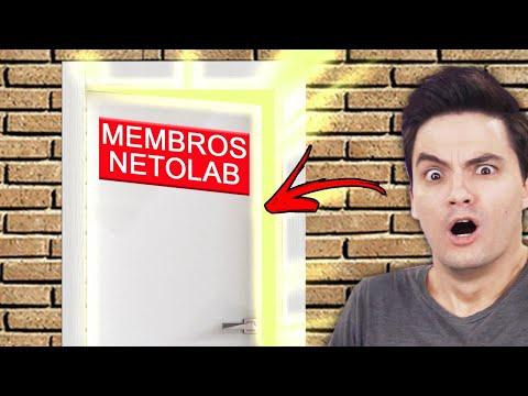 SEJAM BEM-VINDOS AO MUNDO SECRETO DOS MEMBROS NETOLAB