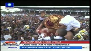 Obiano Takes Over As Anambra Governor