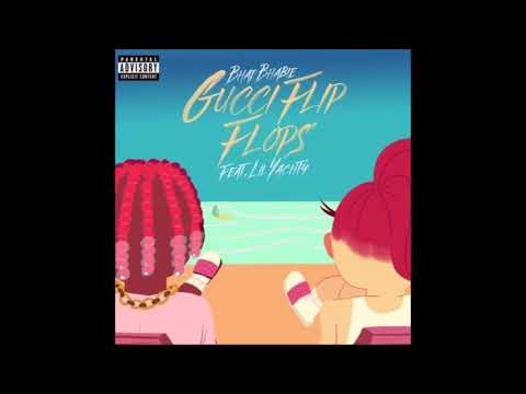 "Bhad  bhabie ft,  Lil Yachty - ""Gucci Flip Flops"" (1 hour Version)"