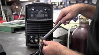 Довговічність MicroTIG 200 200А цифровий змінного струму постійного струму імпульсу зварювальний апарат Tig