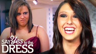 Sorority Sisters Gang Up On Bride's Childhood Friend | Say Yes To The Dress Bridesmaids