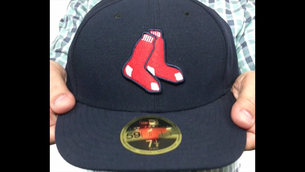 407f0192ccc2b Red Sox  LOW-CROWN ALTERNATE  Fitted Hat by New Era - YouTube